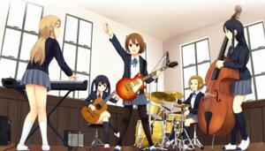 Rating: Safe Score: 15 Tags: akiyama_mio guitar hirasawa_yui k-on! kotobuki_tsumugi munakata nakano_azusa pantyhose seifuku tainaka_ritsu User: fireattack