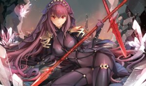 Rating: Safe Score: 93 Tags: (ice_aptx) bodysuit fate/grand_order scathach_(fate/grand_order) weapon User: mash