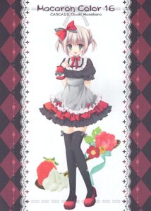 Rating: Questionable Score: 11 Tags: cascade hasekura_chiaki heels paper_texture tagme thighhighs User: Radioactive