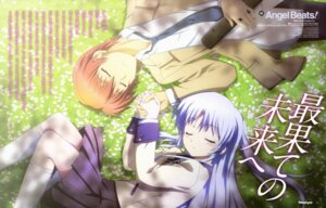 Rating: Safe Score: 21 Tags: angel_beats! kurakawa_hideaki otonashi seifuku tenshi User: Morkings