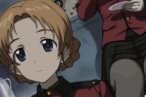 Rating: Safe Score: 10 Tags: a1 girls_und_panzer initial-g orange_pekoe uniform User: NotRadioactiveHonest