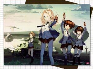Rating: Questionable Score: 9 Tags: akiyama_yukari alisa_(girls_und_panzer) girls_und_panzer kay_(girls_und_panzer) naomi_(girls_und_panzer) tagme User: Radioactive