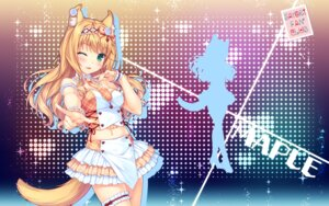 Rating: Safe Score: 65 Tags: animal_ears garter heels maple_(neko_para) neko_para sayori silhouette tail wallpaper User: Mr_GT