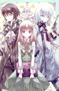 Rating: Safe Score: 15 Tags: dress gun kochou totenkreuz User: Radioactive