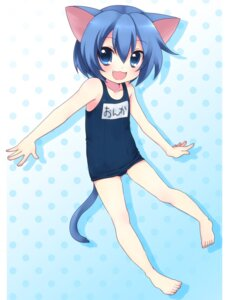 Rating: Safe Score: 13 Tags: animal_ears mani nekomimi onka school_swimsuit swimsuits tail User: charunetra