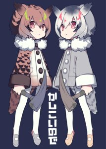 Rating: Safe Score: 18 Tags: eurasian_eagle_owl kemono_friends mochizuki_kei northern_white-faced_owl pantyhose weapon User: nphuongsun93
