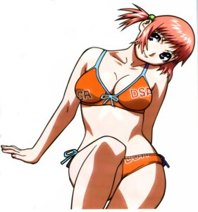 Rating: Safe Score: 15 Tags: bikini cleavage mezzo_forte suzuki_mikura swimsuits umetsu_yasuomi User: Radioactive