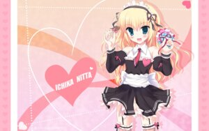 Rating: Safe Score: 37 Tags: chimaro kisaragi_gold_star maid nitta_ichika saga_planets stockings thighhighs valentine wallpaper User: blooregardo