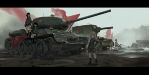 Rating: Safe Score: 39 Tags: girls_und_panzer katyusha nonna renatus-z uniform User: mattiasc02