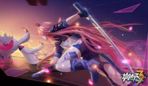 Rating: Safe Score: 31 Tags: benghuai_xueyuan heels mecha sword thighhighs yae_sakura_(benghuai_xueyuan) yuuta_(806350354) User: RyuZU