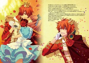 Rating: Safe Score: 13 Tags: alice_in_wonderland carnelian crossover dress headphones ittoki_otoya nanami_haruka_(uta_no_prince_sama) uta_no_prince_sama User: charunetra
