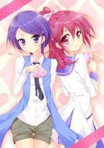 Rating: Safe Score: 24 Tags: aida_mana dokidoki!_precure kenzaki_makoto nekoyaso pretty_cure valentine User: mahoru