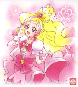 Rating: Safe Score: 4 Tags: dress go!_princess_pretty_cure haruno_haruka pretty_cure skirt_lift tagme User: drop
