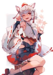 Rating: Safe Score: 22 Tags: animal_ears ataruman inubashiri_momiji tail touhou User: Mr_GT