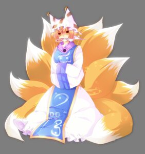 Rating: Safe Score: 10 Tags: animal_ears mutsuki tail touhou transparent_png yakumo_ran User: charunetra