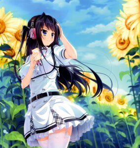 Rating: Safe Score: 77 Tags: headphones manaduru_misaki moonstone natsu_no_iro_no_nostalgia seifuku stockings thighhighs yamakaze_ran User: donicila