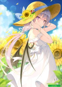Rating: Questionable Score: 79 Tags: dress eve-chan rurudo summer_dress wings User: kiyoe