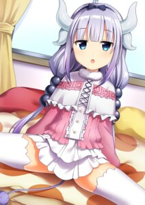 Rating: Safe Score: 74 Tags: horns kanna_kamui kobayashi-san_chi_no_maid_dragon tail thighhighs yuusa User: charunetra