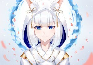 Rating: Safe Score: 21 Tags: animal_ears azur_lane eternity_(pixiv8012826) japanese_clothes kaga_(azur_lane) User: Nepcoheart