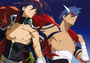 Rating: Safe Score: 19 Tags: kamina male simon tengen_toppa_gurren_lagann User: howagirlfigures