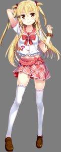Rating: Safe Score: 42 Tags: 47_heroines chihaya_otoha fujima_takuya seifuku thighhighs transparent_png User: saemonnokami
