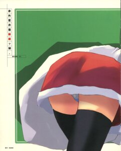 Rating: Questionable Score: 2 Tags: christmas e=mc2 fixme pantsu stitchme thighhighs User: korokun