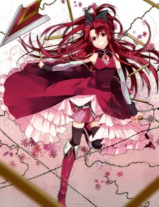 Rating: Safe Score: 45 Tags: dress manyako puella_magi_madoka_magica sakura_kyouko thighhighs User: kayex