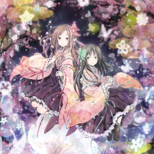 Rating: Safe Score: 58 Tags: claris disc_cover japanese_clothes takano_otohiko User: zmz125000