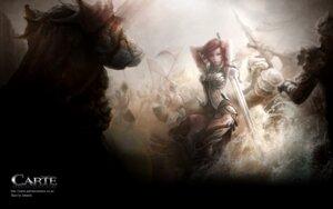 Rating: Safe Score: 26 Tags: armor blood carte ishtaris sword thighhighs wallpaper User: blooregardo