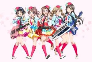 Rating: Safe Score: 14 Tags: bang_dream! guitar hanazono_tae heels ichigaya_arisa tagme toyama_kasumi uniform ushigome_rimi yamabuki_saaya User: saemonnokami