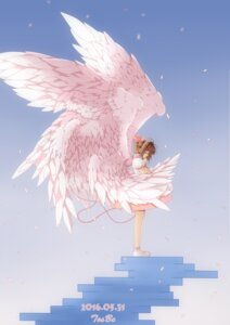 Rating: Safe Score: 30 Tags: card_captor_sakura dress kinomoto_sakura wings yibu User: charunetra