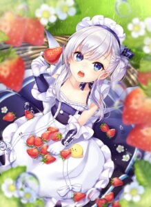 Rating: Questionable Score: 40 Tags: azur_lane bel-chan_(azur_lane) belfast_(azur_lane) cleavage kitazume_kumie maid User: sym455
