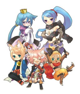 Rating: Safe Score: 5 Tags: 7th_dragon chibi hoshino knight_(7th_dragon) princess_(7th_dragon) rogue_(7th_dragon) samurai_(7th_dragon) User: Nekotsúh