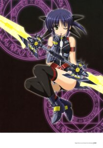 Rating: Safe Score: 23 Tags: higa_yukari isis_eaglet jpeg_artifacts mahou_senki_lyrical_nanoha_force mahou_shoujo_lyrical_nanoha thighhighs User: CryFleuret