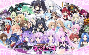 Rating: Safe Score: 58 Tags: 5pb._(choujigen_game_neptune) black_heart black_sister blanc bodysuit brave_the_hard cave_(choujigen_game_neptune) choujigen_game_neptune choujigen_game_neptune_mk2 cleavage compa compile_heart devil dress eyepatch falcom_(choujigen_game_neptune) green_heart gust_(choujigen_game_neptune) hakozaki_chika headphones histoire if_(choujigen_game_neptune) jinguuji_kei judge_the_hard linda_(choujigen_game_neptune) magic_the_hard magiquone maid mecha megane monster nepgear neptune nippon_ichi_(choujigen_game_neptune) nishizawa_mina noire pirachu purple_heart purple_sister ram_(choujigen_game_neptune) rom_(choujigen_game_neptune) seifuku trick_the_hard tsunako uni_(choujigen_game_neptune) vert wallpaper white_heart white_sister_ram white_sister_rom wings User: SomePerson007