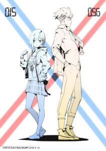 Rating: Safe Score: 32 Tags: darling_in_the_franxx gorgeous_mushroom gorou_(darling_in_the_franxx) ichigo_(darling_in_the_franxx) megane User: Spidey