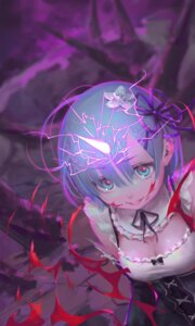 Rating: Safe Score: 44 Tags: blood cleavage gorgeous_mushroom horns maid re_zero_kara_hajimeru_isekai_seikatsu rem_(re_zero) User: Spidey