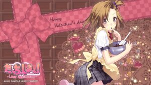 Rating: Safe Score: 20 Tags: cream hirano_katsuyuki seifuku valentine wallpaper User: hammer