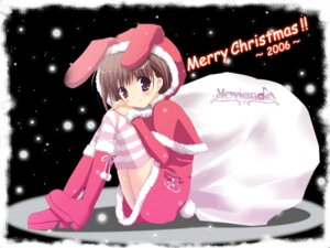 Rating: Safe Score: 10 Tags: christmas miyasaka_miyu moviendo thighhighs wallpaper User: topcdmouse