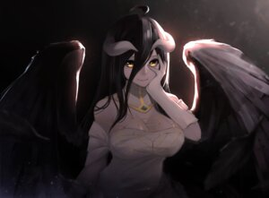 Rating: Safe Score: 74 Tags: albedo_(overlord) ariinine cleavage horns overlord wings User: Mr_GT