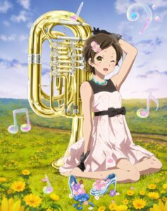 Rating: Safe Score: 38 Tags: dress heels hibike!_euphonium katou_hazuki_(hibike!_euphonium) summer_dress User: starrin