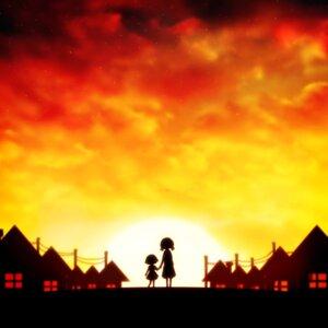 Rating: Safe Score: 6 Tags: chibi_maruko-chan harada_miyuki landscape sakura_momoko User: mash
