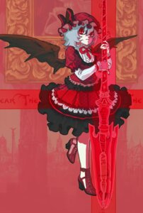 Rating: Safe Score: 8 Tags: momiji remilia_scarlet touhou User: Mr_GT