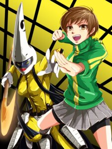 Rating: Safe Score: 2 Tags: bike_shorts gamamasa megaten persona persona_4 satonaka_chie User: Radioactive