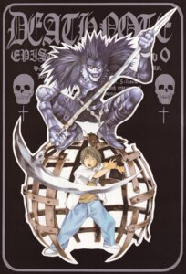 Rating: Safe Score: 2 Tags: death_note kagami_taro male obata_takeshi ryuk User: Radioactive
