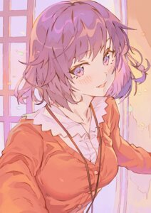 Rating: Safe Score: 33 Tags: bakemonogatari hong monogatari_(series) senjougahara_hitagi sweater User: yanis