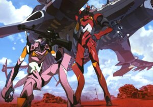 Rating: Safe Score: 15 Tags: eva_02 eva_08 iwasato_masanori mecha neon_genesis_evangelion User: drop