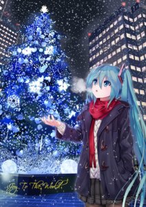 Rating: Safe Score: 25 Tags: hatsune_miku pantyhose sweater takepon1123 vocaloid User: Mr_GT