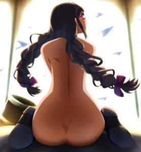Rating: Questionable Score: 55 Tags: akemi_homura ass megane naked puella_magi_madoka_magica umakatsuhai User: sylver650