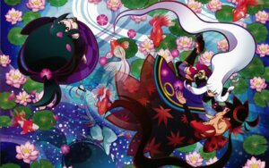 Rating: Safe Score: 20 Tags: katanagatari togame wallpaper yasuri_nanami yasuri_shichika User: Ash89